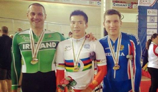 Бронзу на чемпионате мира по паравелоспорту взял спортсмен из Удмуртии