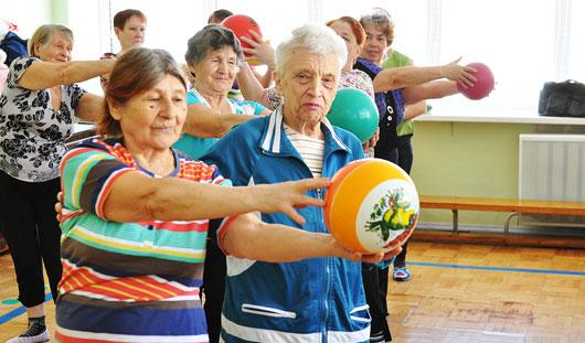83-летняя ижевчанка организовала фитнес-клуб