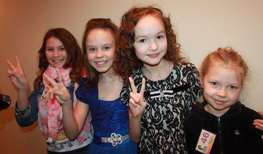 Ижевчанки попали в число 75 лучших исполнителей России в конкурсе «Детская Новая Волна-2014»