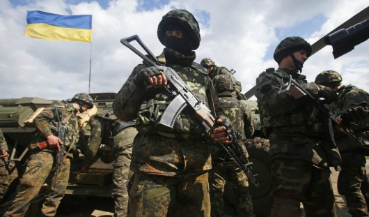 Первое серьезное столкновение украинской армии с протестующими произошло на востоке Украины