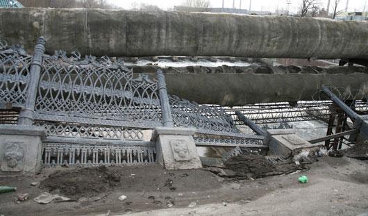 Стоимость ремонта моста над плотиной Ижевского пруда оценивают в 50 млн рублей