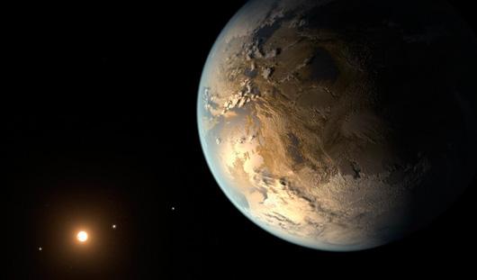 Найдена планета, очень похожая на Землю