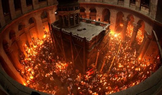 21 апреля в Удмуртию прибудет Благодатный огонь