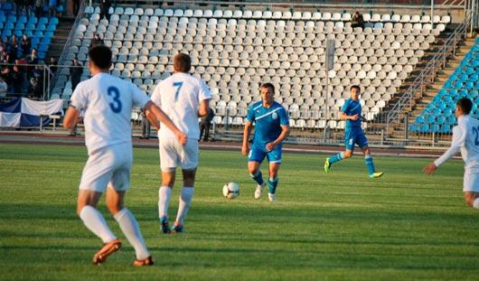 Матч между ижевскими футболистами и ФК «Лада-Тольятти» закончился ничьей