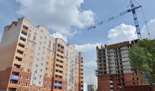 В 2014 году в Ижевске построят 300 тысяч квадратных метров жилья