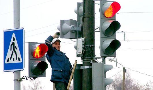 На перекрестке улицы Пушкинской и переулка Широкого не работает светофор