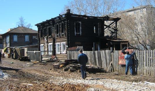 Пожар в Ижевске устроил один из жителей дома?