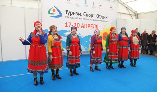 Калоши на подошве цвета фуксии: «Бурановские бабушки» вышли на подиум в Ижевске