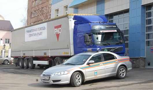 Гуманитарный груз из Удмуртии доехал до Крыма