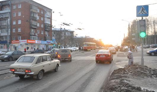 Режим работы светофоров на Ленина в Ижевске менять не будут