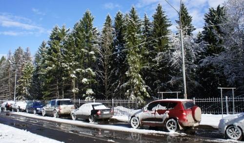 Кировский снегопад прошелся по Ижевску