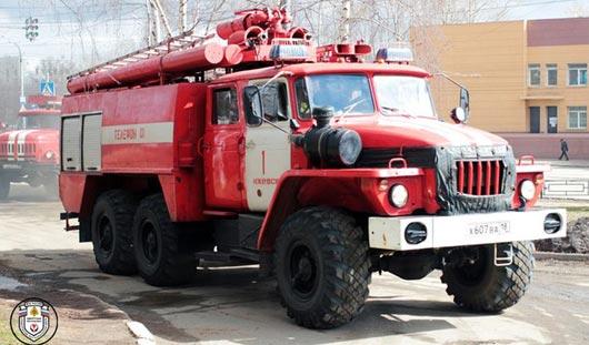 В ижевском кардиоцентре проходят учения пожарных