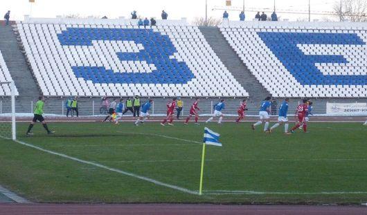 Ижевские футболисты выиграли у команды из Новотроицка со счётом 1:0