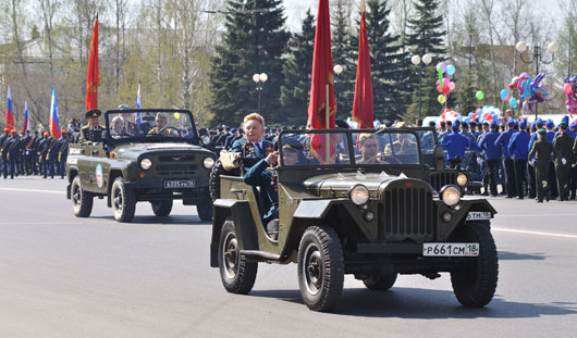 На Параде в честь 9 Мая в Ижевске пройдут «Тигры» и раритетный автомобиль «ГАЗ-А»