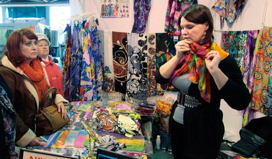 Товары Всероссийской ярмарки в Удмуртии пользуются популярностью у ижевчан