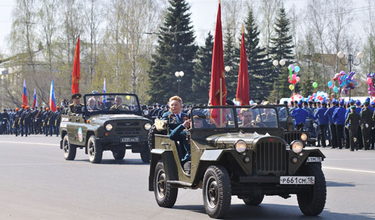 На параде в Ижевске в честь 9 Мая проедут «Тигры» и автомобиль «ГАЗ-А»