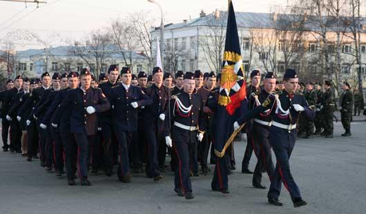 В Ижевске прошла первая репетиция Парада Победы к 9 мая