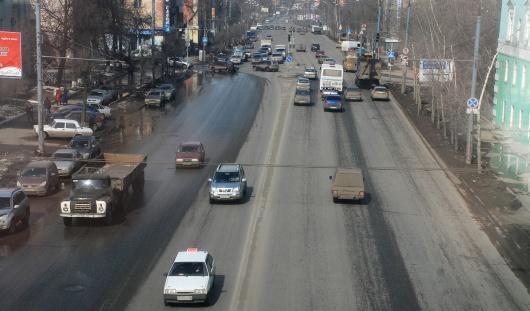 Новые ряды для транспорта появятся на трех улицах Ижевска