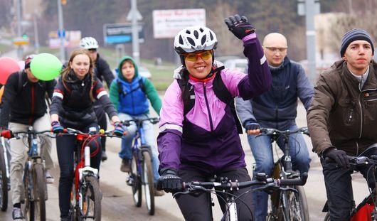 Ижевск открыл велосипедный сезон
