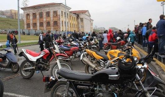 В Ижевске мотоциклисты открыли сезон