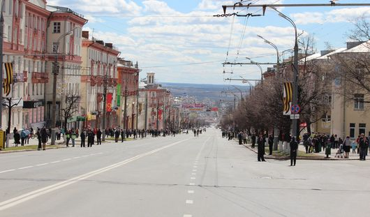 Какие дороги перекроют в Ижевске 8 и 9 мая