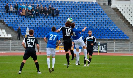 Ижевские футболисты проиграли ульяновской «Волге»