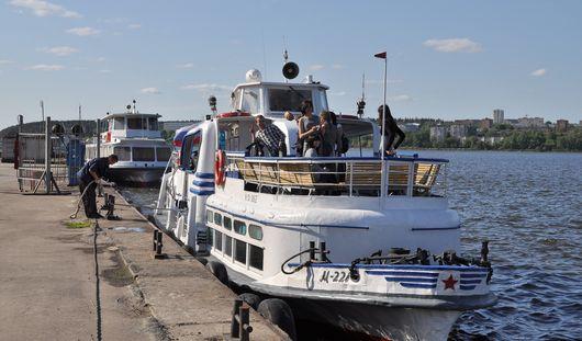 Навигация на Ижевском пруду откроется 9 мая