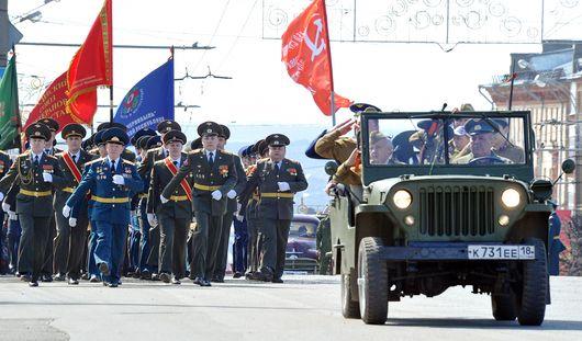 Около 45 тысяч человек приняли участие в параде Победы
