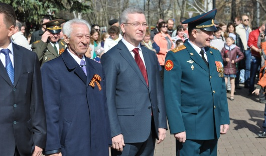 Глава Ижевска принял участие в праздновании дня Победы