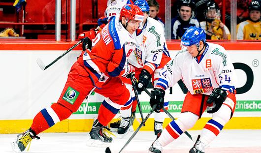В День Победы в столице Белоруссии хоккеисты сборной России будут «воевать» со швейцарцами.