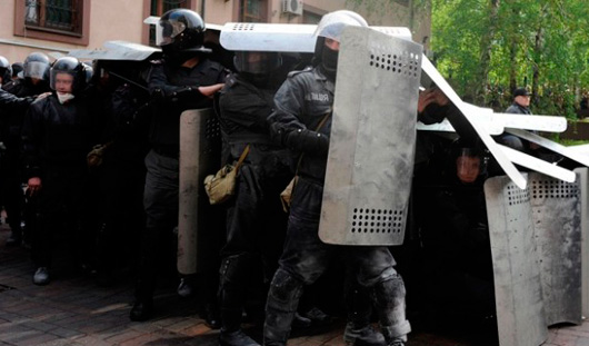 Украинские силовики вновь штурмуют Славянск