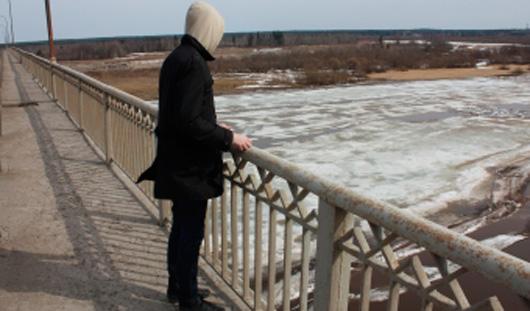 Житель Удмуртии бросился с моста в Чепцу