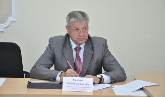 Виктор Балакин ушел с поста министра общественной безопасности Удмуртии