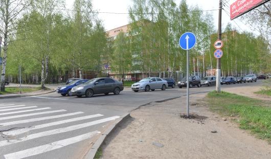 На набережной Ижевска демонтировали знак «Проезд запрещен»