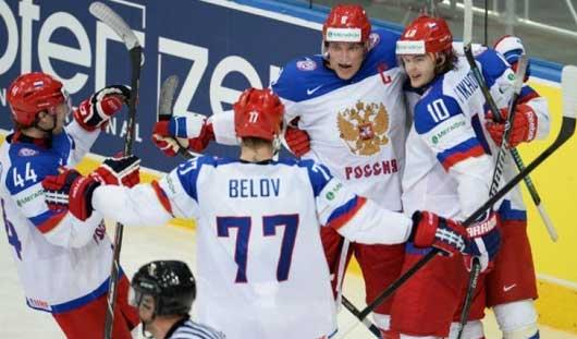 В среду сборные России и Казахстана встретятся на ЧМ по хоккею