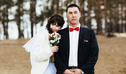 Ижевские молодожены: Никому не сказала, что уехала к нему в Челябинскую область, где он служил