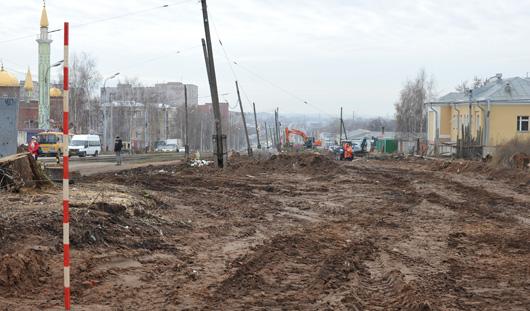 В Ижевске на месяц закрыли движение по улице Пастухова и переулку Интернациональный
