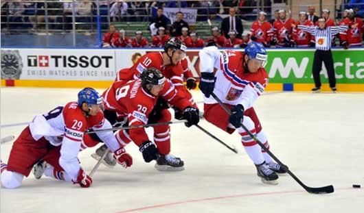 4 матча пройдут на Чемпионате мира по хоккею 15 мая
