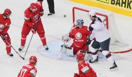16 мая пройдут 4 матча пятого круга ЧМ по хоккею в Минске