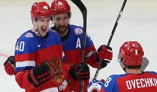 Сборная России по хоккею выиграла у соперников из Латвии