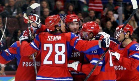 18 мая хоккеисты из России сыграют с Германией