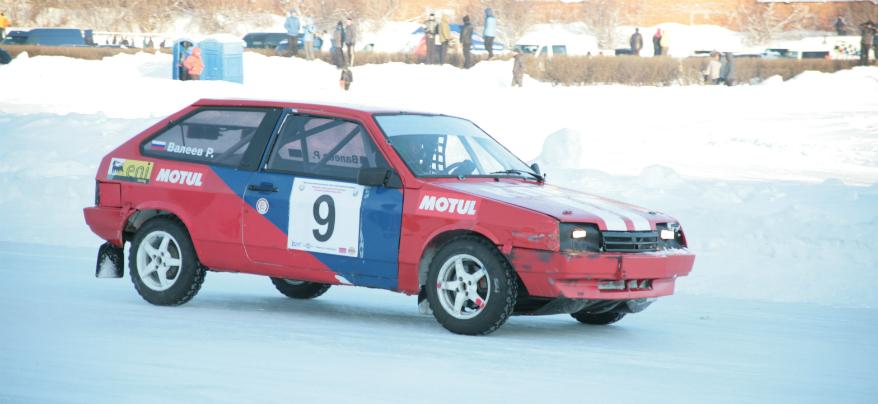 1-й этап Чемпионата Удмуртии по зимним трековым гонкам прошел в Ижевске