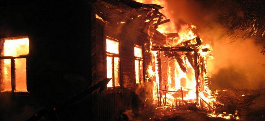 Отец и 6-летний сын погибли при пожаре в Удмуртии