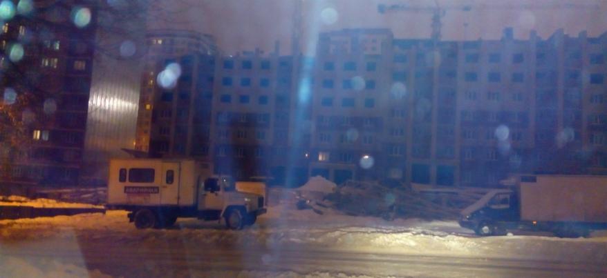 В Ижевске в доме на улице Барышникова дали отопление