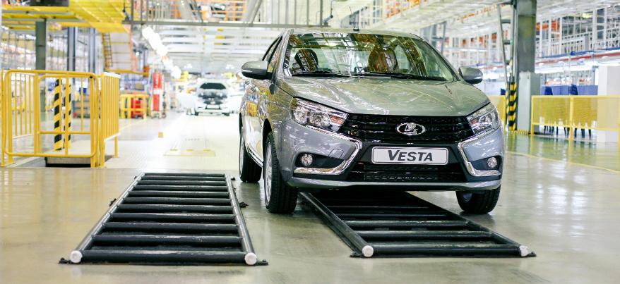 Ижевский автомобиль Lada Vesta получит электромотор