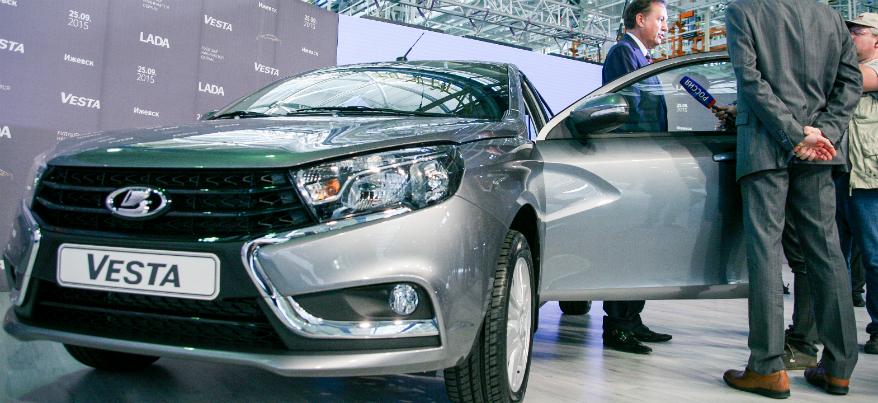 В Ижевске собрали более 5 тысяч автомобилей Lada Vesta