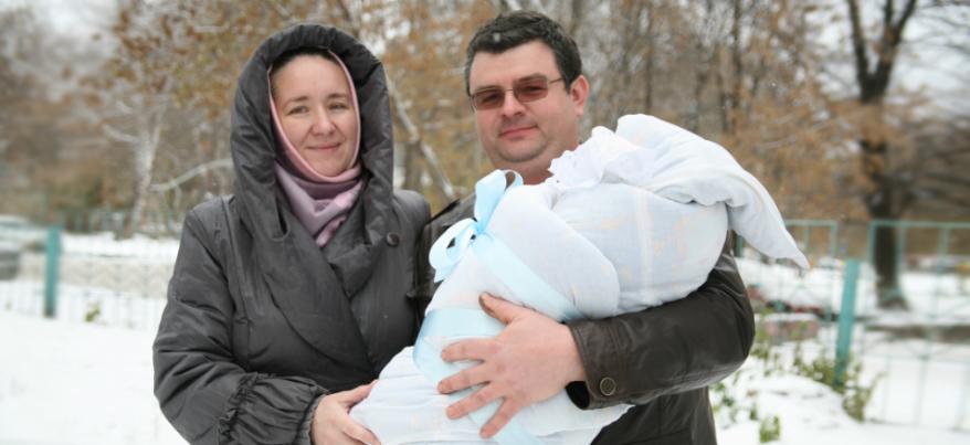 В новогодние праздники в Ижевске родились 284 ребенка