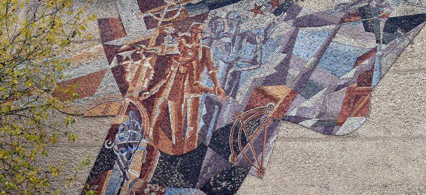 Прогулки по Ижевску: настенная «живопись» эпохи СССР