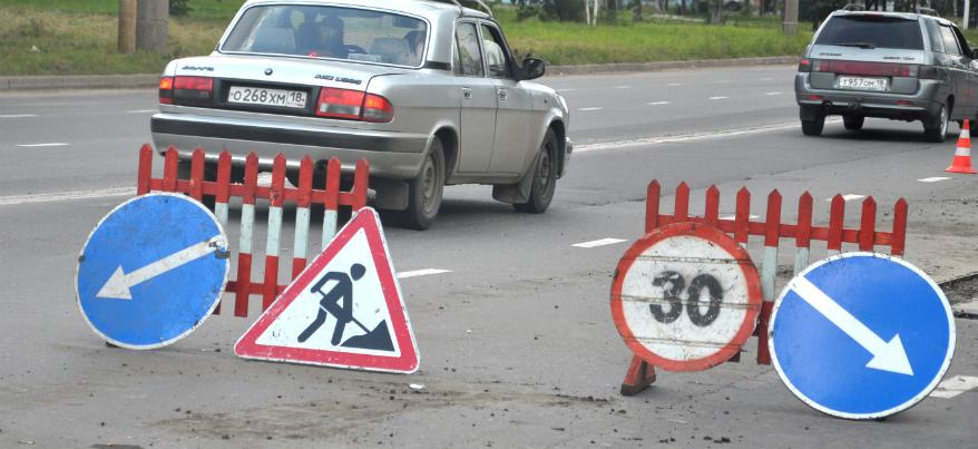 Изменения погоды в Ижевске плохо скажутся на состоянии дорог