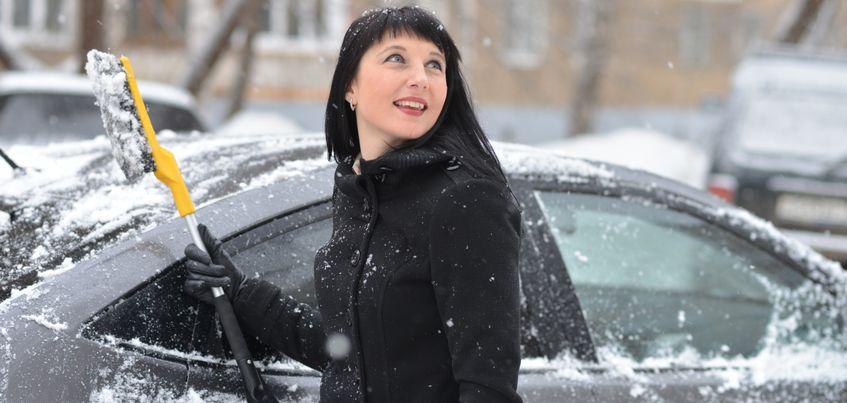 Похолодание и снегопад ожидаются в Ижевске до конца недели